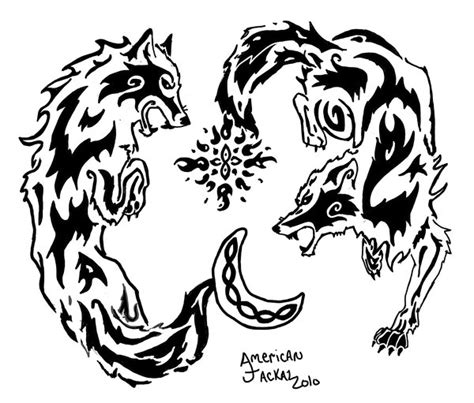 hati and skoll by american jackal on deviantart