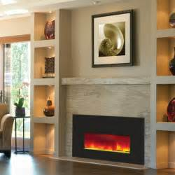 Small Electric Fireplace Amantii Small Electric Fireplace Insert W 38x25 In Black Glass Surround Insert 26 3825