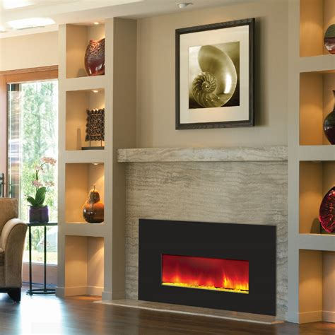 amantii small electric fireplace insert w 38x25 in black