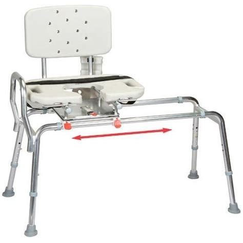 Sliding Shower Chairs For Elderly by 5 Best Sliding Transfer Bench Great Gift For Those With