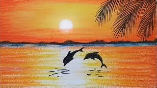 how to draw a boat with oil pastels farjana drawing academy viyoutube