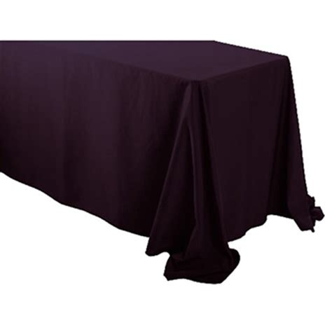 90 x 156 table 90 quot x 156 quot rectangular polyester table cloth