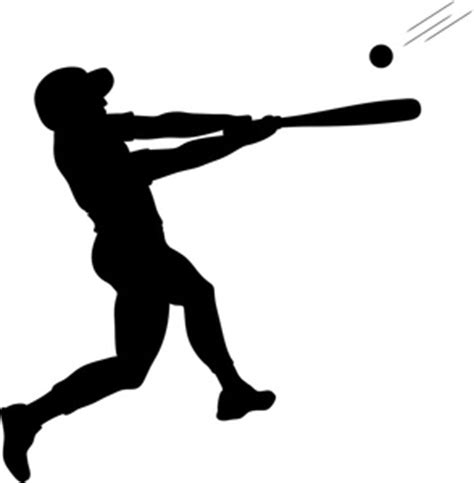 baseball player swinging bat clip art batter clipart image batter swinging baseball bat at a