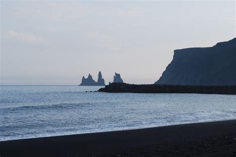 black sand beach iceland contemplating change iceland beaches of black sand