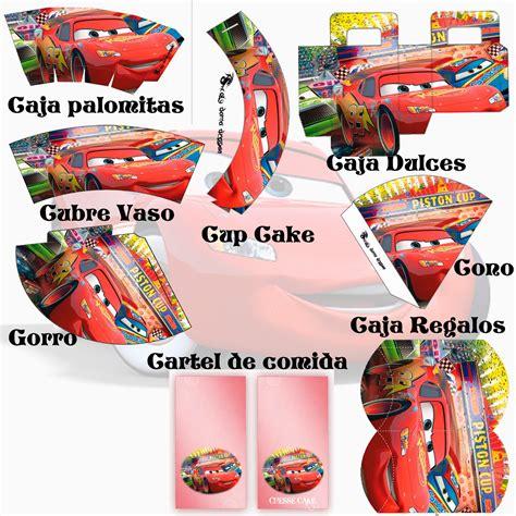 imagenes cumpleaños de cars kit de cumplea 241 os cars cars fiestas and birthdays