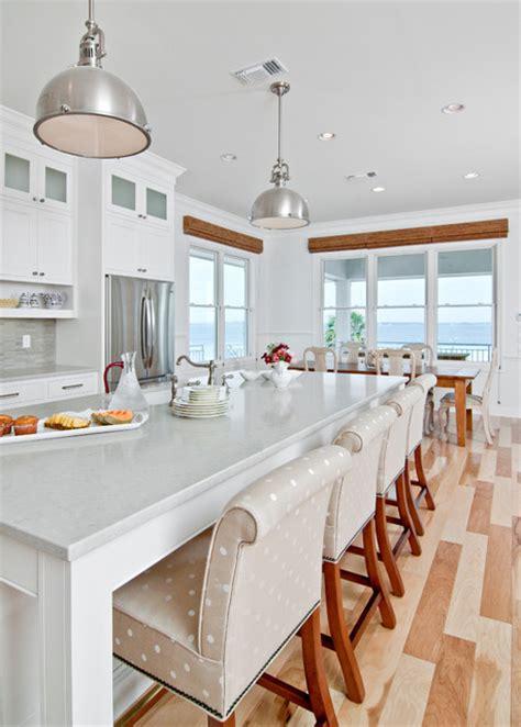 White Coastal Kitchen - white beach kitchen