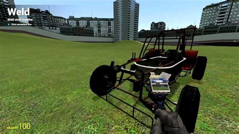 mod garry s mod car garry s mod how to build an awesome car youtube