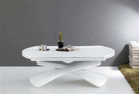 Couchtisch Weiß Höhenverstellbar moderner wohnzimmertisch