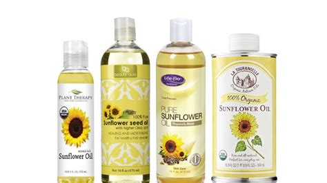 sunflower oil hair products the benefits of sunflower oil for hair