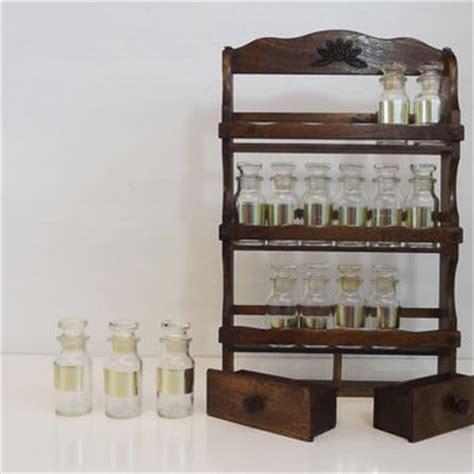 Small Spice Rack Set Shop Etsy Jar Labels On Wanelo