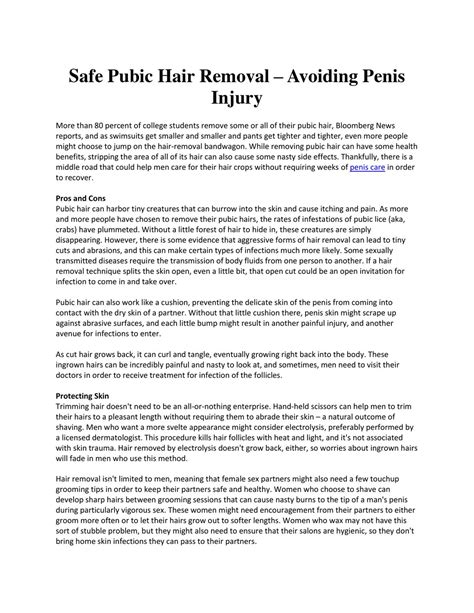 pubic hair shaved in hospital true accounts safe pubic hair removal avoiding penis injury by