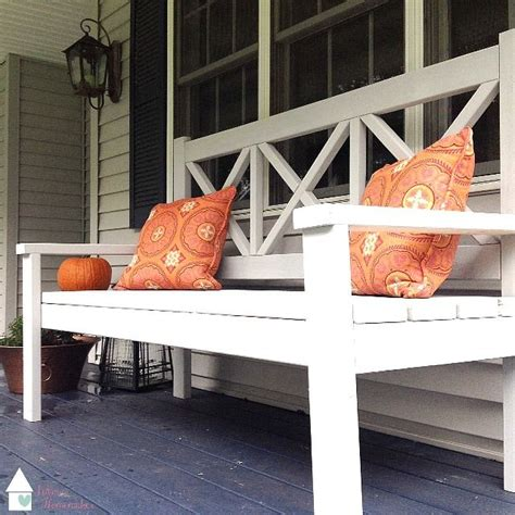 benches for front porch my first ana white project do it yourself home projects from ana white ptuitt pinterest