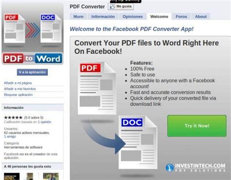 convert pdf to word quora convertidor de archivos desde facebook redes sociales
