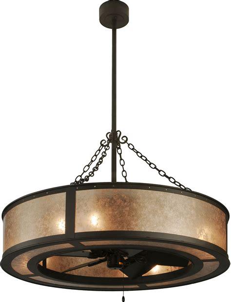 meyda tiffany ceiling fans meyda tiffany 138838 smythe craftsman silver mica oil