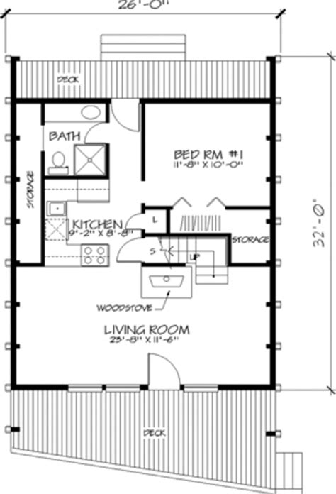 320 square feet cabin style house plan 1 beds 1 baths 908 sq ft plan