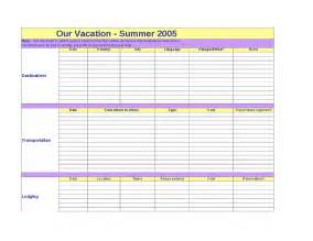 vacation planning template calendar template 2016