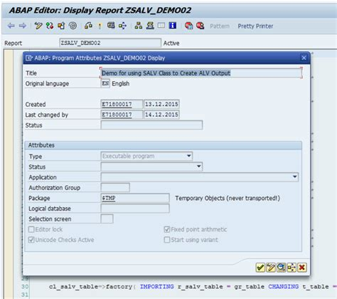 abap alv layout zebra using the salv oo class changing how the alv grid is