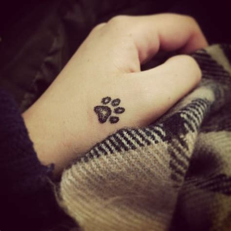 looking for a paw print tattoo tattoos beautiful