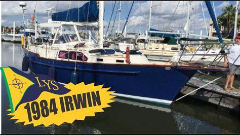 sailboats kemah sold 1984 irwin 38 center cockpit sailboat for sale at