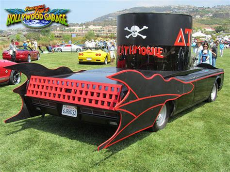 animal house window scene movie car of the day the animal house deathmobile fireball malibu vlog