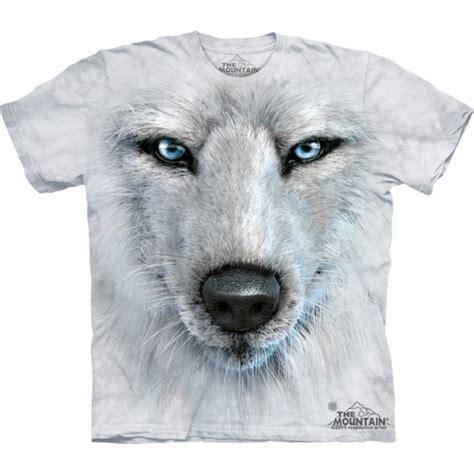 Tshirt Alpa Animal shirt loup blanc