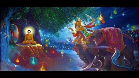 iluminacion buda iluminacion de buda y el dharma derrotando a mara o