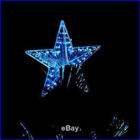 out door christmas fiber optic led ornament new 6 spiral tree fiber optic artificial lighted ornament