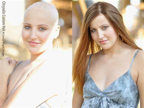 hair styles before chemo meet our wig giveaway winner chrysalis custom hair