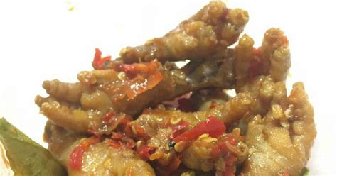 resep ceker pedas manis oleh noviopih cookpad