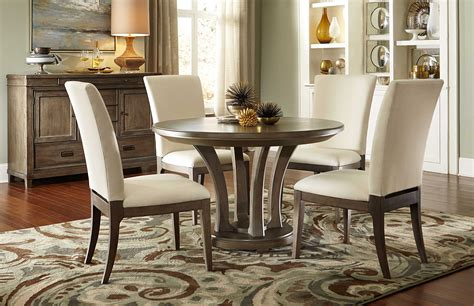 american drew dining room table american drew park studio weathered taupe with gray wash
