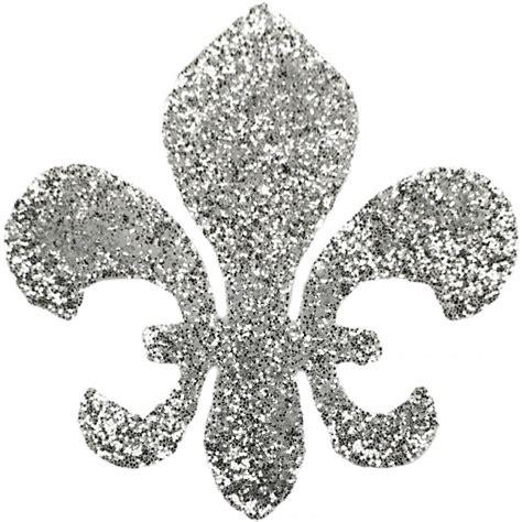 Lis Stiker fleur de lis silver sticker s w1000 craftoutlet