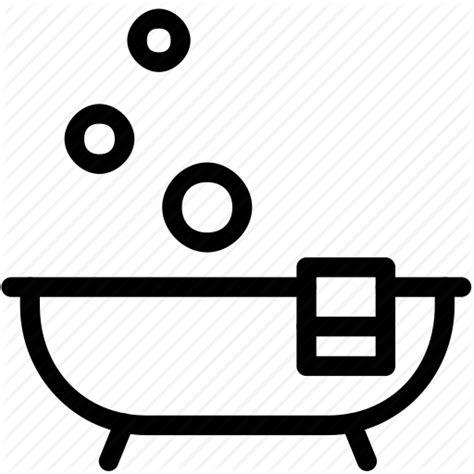 Bathroom Icon Images Bath Bathroom Bathtub Thin Icon Icon Search Engine