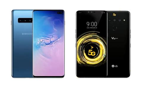 samsung galaxy s10 5g vs lg v50 thinq 5g what s the difference in price features