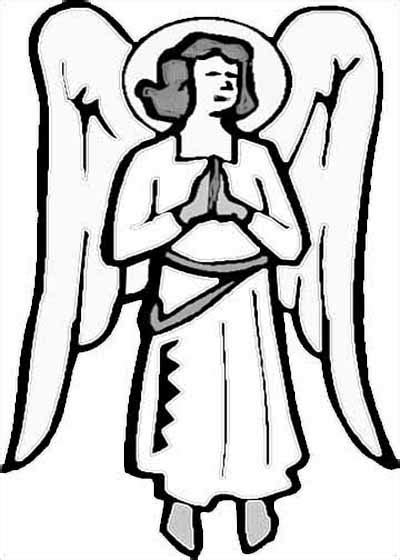 free coloring pages of angel gabriel and mary