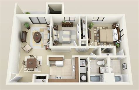 Two Bedroom Appartment by