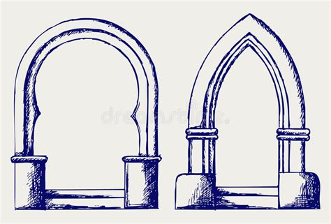 B Arch Sketches by Arch Sketch Stock Images Image 26975254