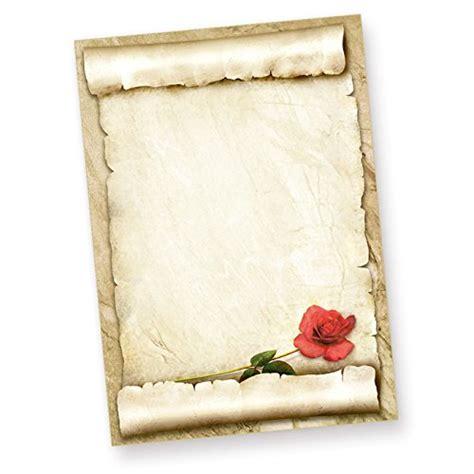 Word Vorlage Liebesbrief tatmotive rote briefpapier 50 blatt sch 246 nes