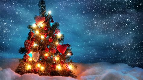 beautiful christmas tree wallpapers hd wallpapers