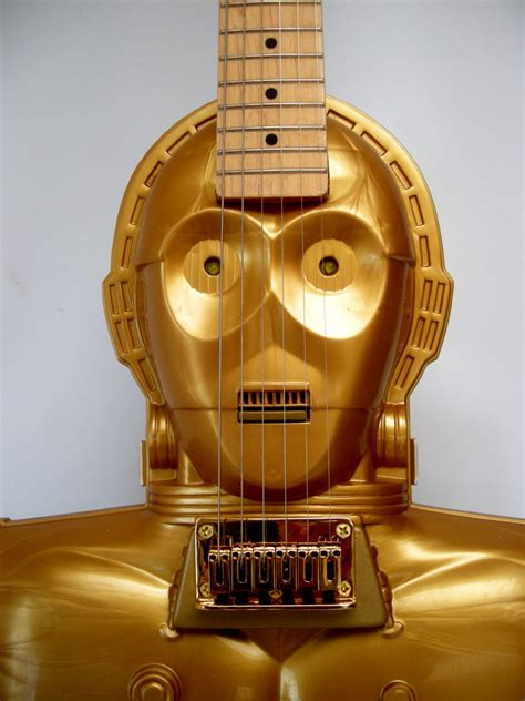 guitar wars c3po electric handmade wars guitar collectors
