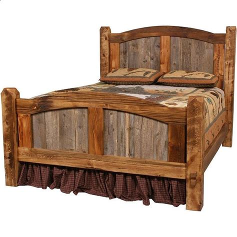 Western Style Bed Frames 25 Best Ideas About Headboard On Headboard And Frame Reclaimed Wood