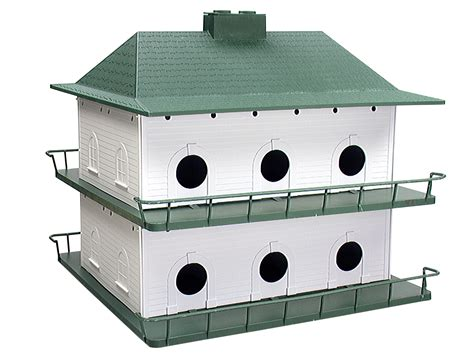 Outdoor Garden Purple Martin Bird House Feeder
