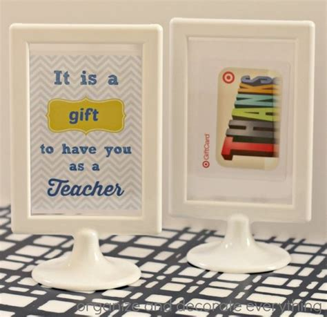 Gift Card Frame - 9 creative ways to give gift cards organize and decorate everything