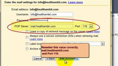 gmail smtp port contact outlook smtp settings