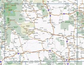 Map Of Wyoming State by Map Of Wyoming Outravelling Maps Guide
