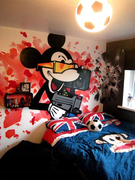 graffiti bedroom custom painted quot graffiti wallpaper quot by graffiti kings