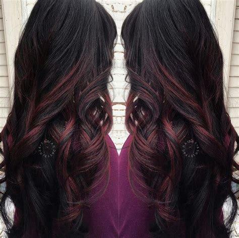 17 best ideas about red low lights on pinterest red 17 best ideas about black hair red highlights on pinterest