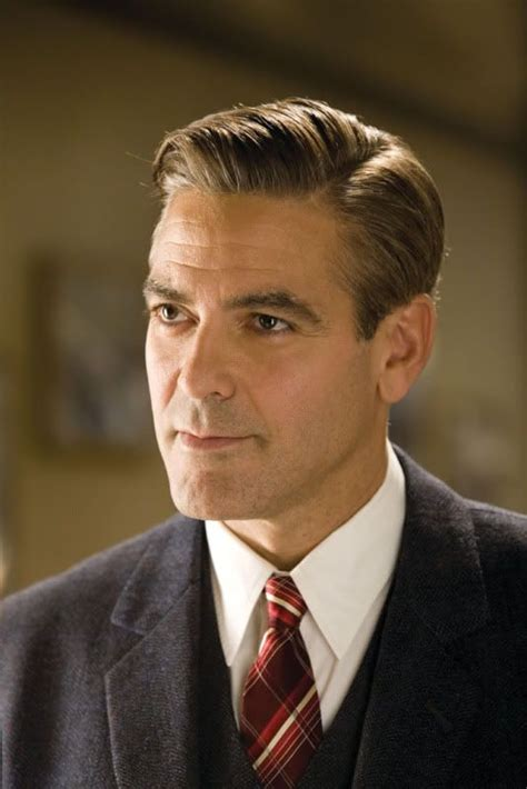 1940 mens hairstyles men s hairstyles of the 1940s george clooney hairstyles and lawyers on pinterest