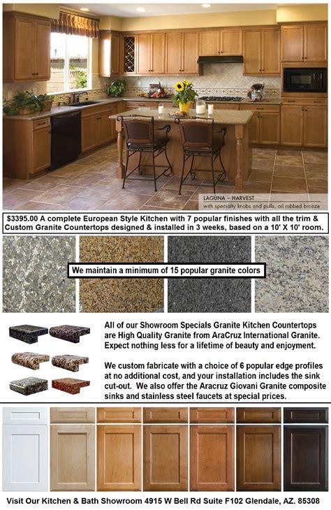 Sale On Granite Countertops by Glendale Az Kitchen Cabinets Granite Countertops Sale