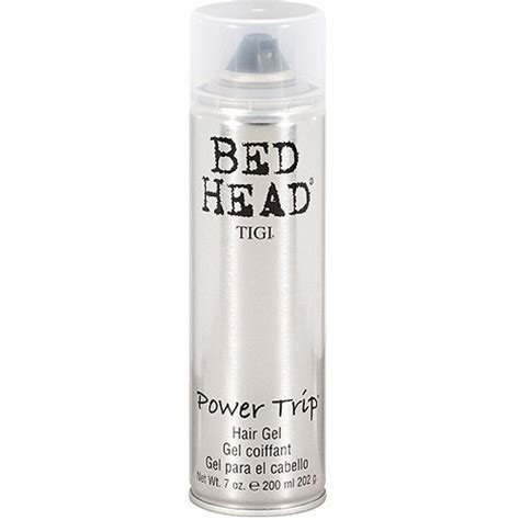 bed head gel tigi bed head power trip hair gel 7 oz walmart com