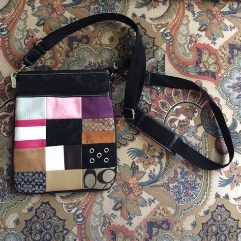 Logan Patchwork - coach patchwork coach cross purse not authentic